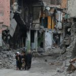 The destruction of Sur, Amed (Diyarbakir), 2015.  Source: https://pbs.twimg.com/media/CbwqhAOXIAUH_22.jpg