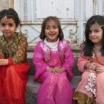 Young girls dressed for Newroz, south (Iraqi) Kurdistan.  Source: Gina Lennox, 2014