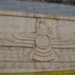 Zoroastrian symbol, Dohuk, south (Iraqi) Kurdistan