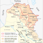 Bashur: Southern Kurdistan (autonomous region in Iraq and disputed territories)      .............Click anywhere to ENLARGE