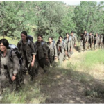 PKK female fighters leading the way